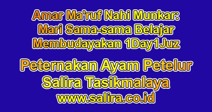Amar Ma'ruf Nahi Munkar: Mari Sama-sama Belajar Membudayakan 1Day1Juz