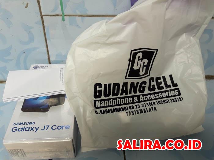 Samsung Galaxy J7 Core - SM-J701F/DS Rp. 2.425.000,- di Gudang Cell Tasikmalaya (16 Desember 2017)
