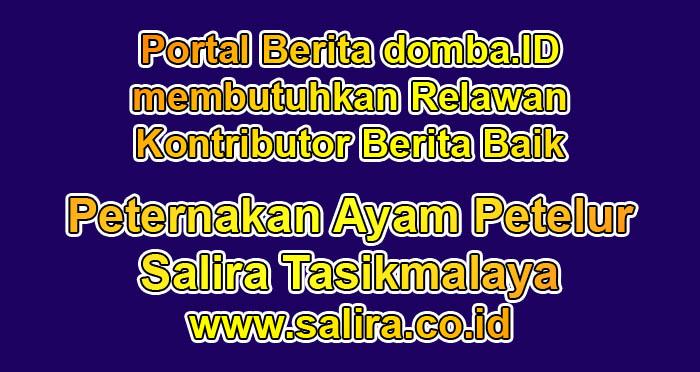 Portal Berita domba.ID membutuhkan Relawan Kontributor Berita Baik