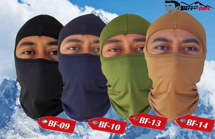 Topeng Ninja - Harga Rp 35.000,- / Topeng (Mantep Ini yang Warna Hitam buat Plogging)