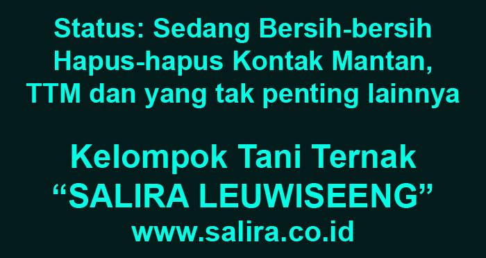 Status: Sedang Bersih-bersih Hapus-hapus Kontak Mantan, TTM, dan Kontak-kontak yang tak Penting lainnya dari Smartphone Saya