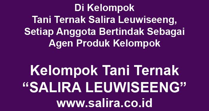 Di Kelompok Tani Ternak Salira Leuwiseeng, Setiap Anggota Bertindak Sebagai Agen Produk Kelompok