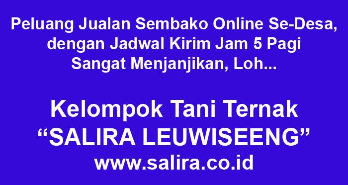 Peluang Jualan Sembako Online Se-Desa dengan Jadwal Kirim Jam 5 Pagi Sangat Menjanjikan, Loh...