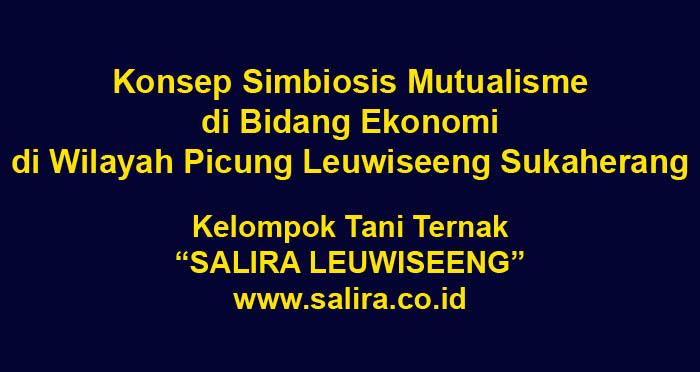 Konsep Simbiosis Mutualisme di Bidang Ekonomi di Wilayah Picung Leuwiseeng Sukaherang Singaparna